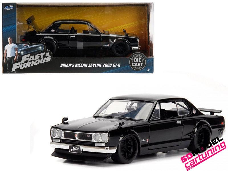 1:24 Nissan Skyline 2000 GT-R Brian´s Fast&Furious