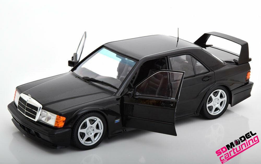 1:18 Mercedes benz 190E EVO2 Zwart
