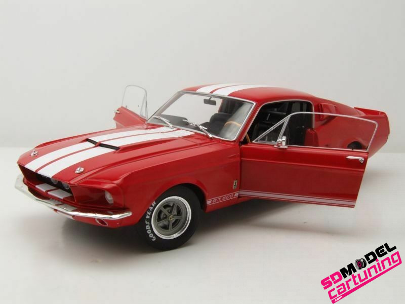 1:18 Ford Mustang Shelby GT500 rood