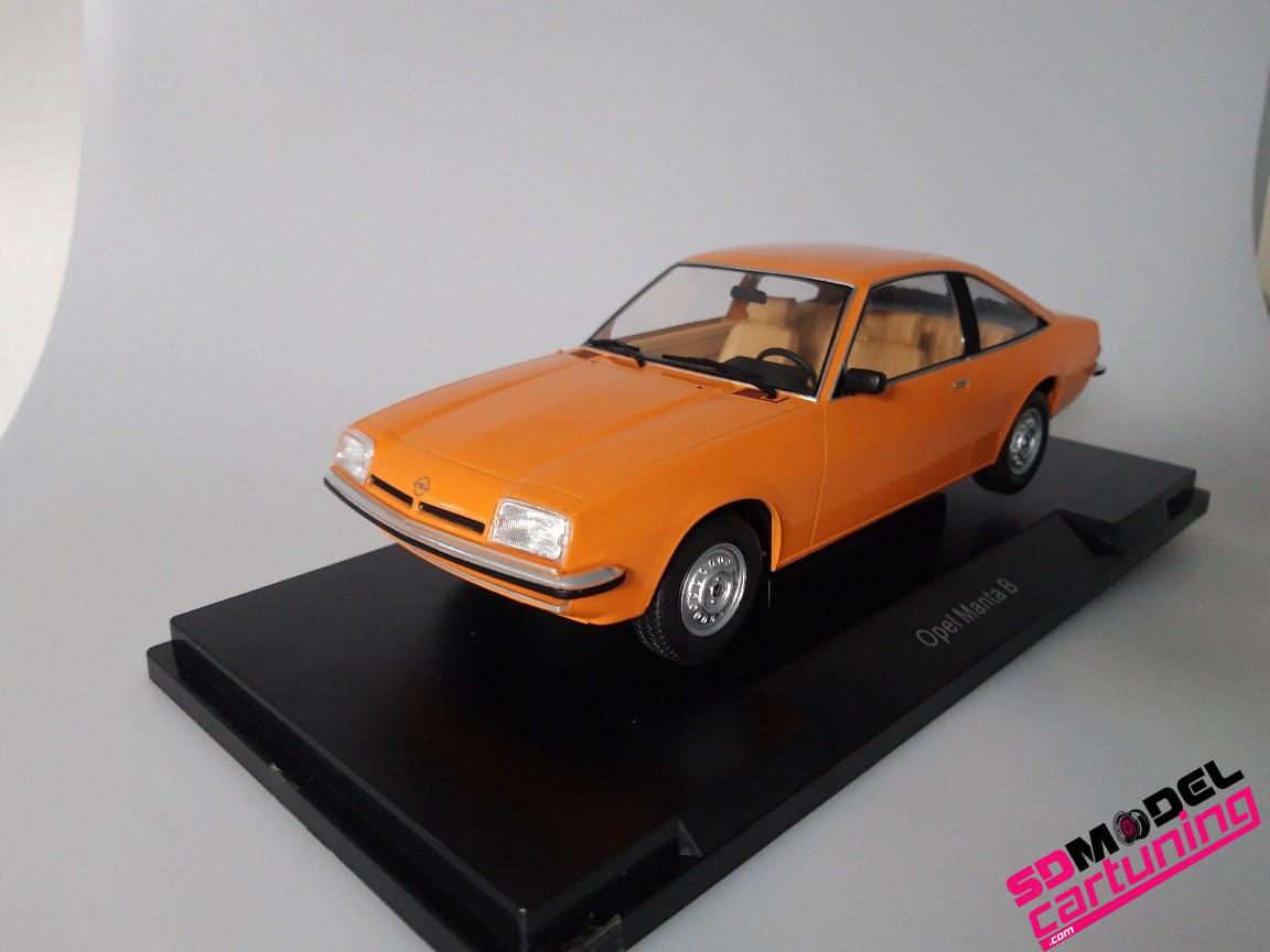 1:18 Opel Manta B Oranje