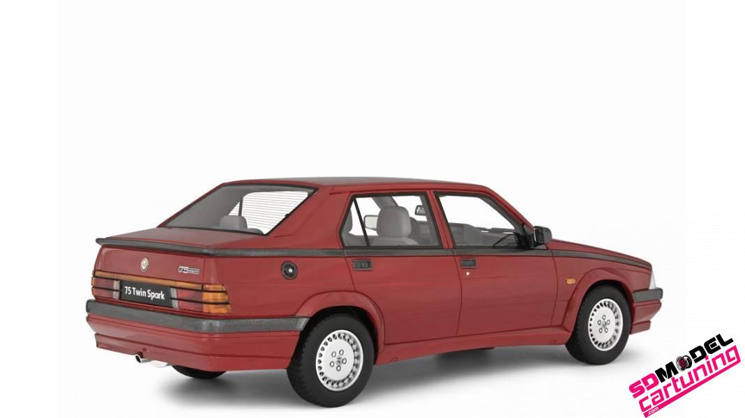 1:18 Alfa Romeo 75 2.0 Twin spark 1987 rood