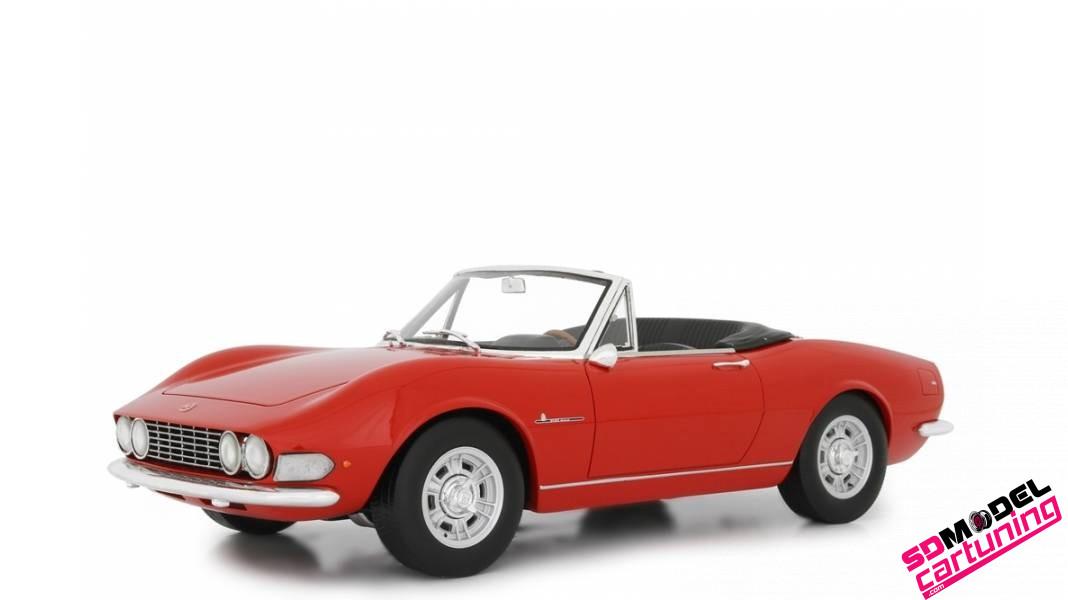 1:18 Fiat Dino Spider 2000 1967 rood