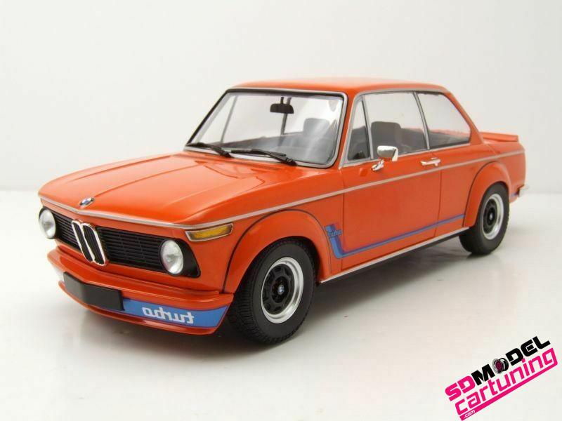 1:18 BMW 2002 Turbo 1973 Oranje