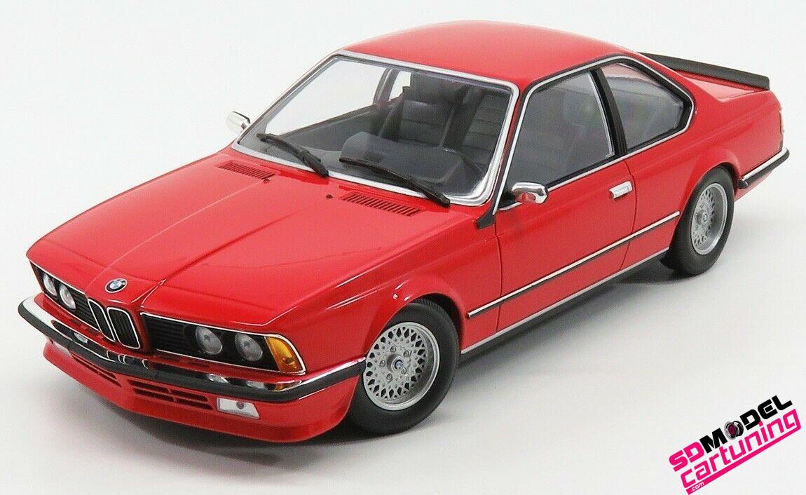 1:18 BMW 635CSI 1982 Rood