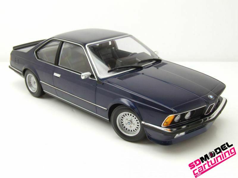 1:18 BMW 635CSI 1982 Blauw
