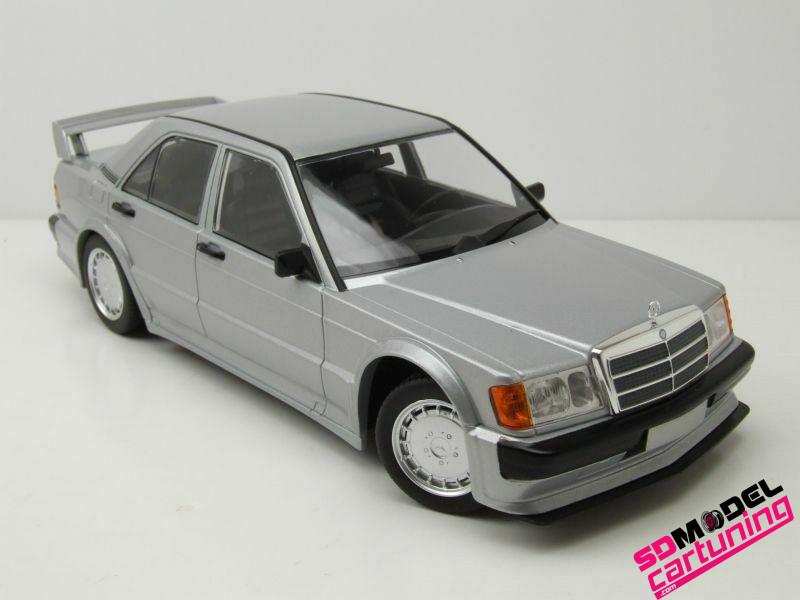 1:18 Mercedes benz 190E 2.5 16V Evo1 Zilver