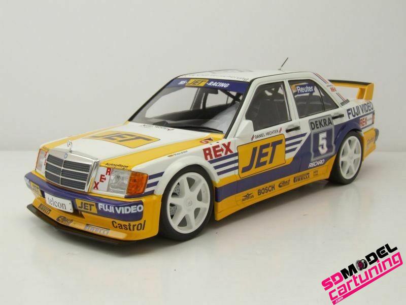 1:18 Mercedes benz 190E 2.5 16V Evo1 MS-JET DTM 1989