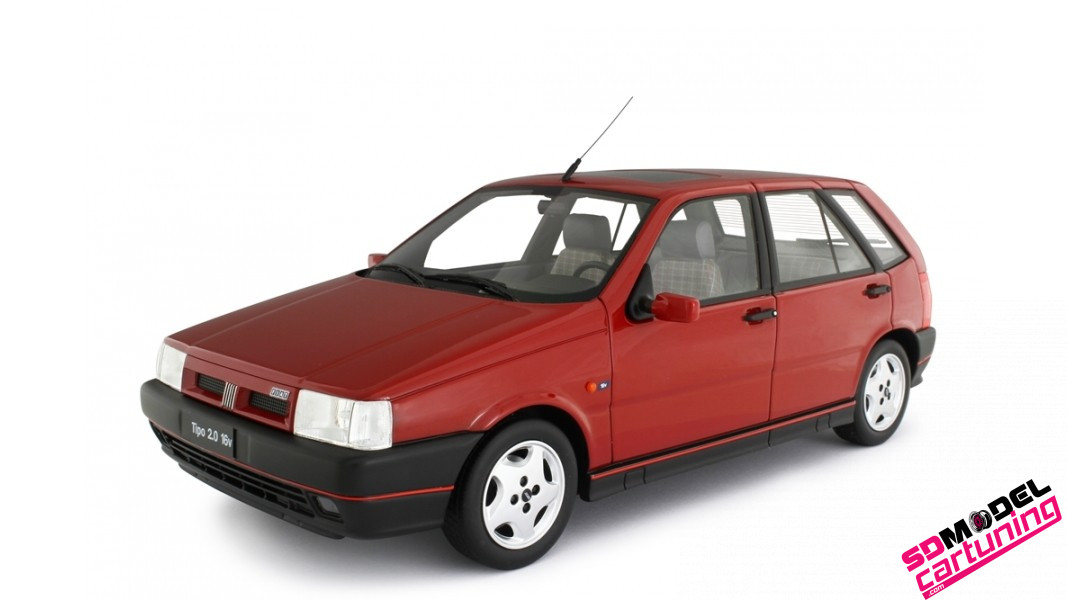 1:18 Fiat Tipo 2.0 16V 1991 rood