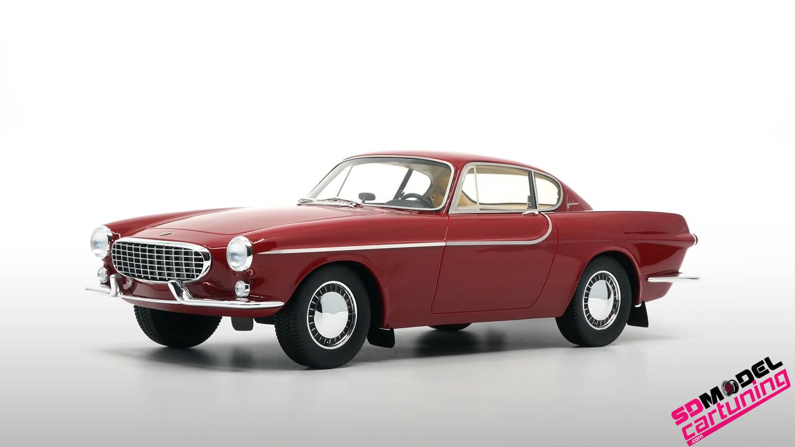 1:18 Volvo P1800 Jensen rood